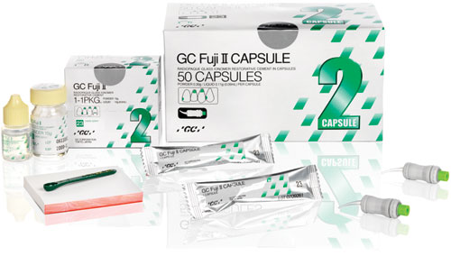 Gc Europe Fuji Ii Glass Ionomer Restorative Cement